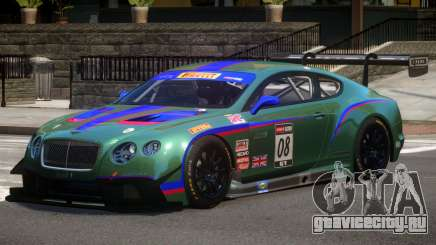 Bentley Continental GTS PJ2 для GTA 4