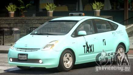 Toyota Prius 2 Taxi V1.2 для GTA 4