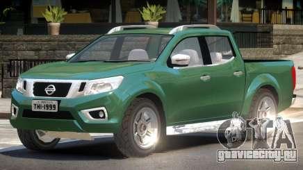 Nissan Navara NP300 V1.0 для GTA 4
