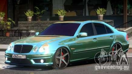 Mercedes E63 V1 для GTA 4