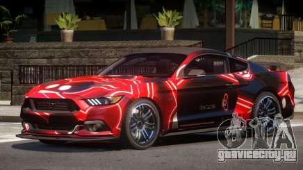Ford Mustang GT-S V1.0 PJ2 для GTA 4