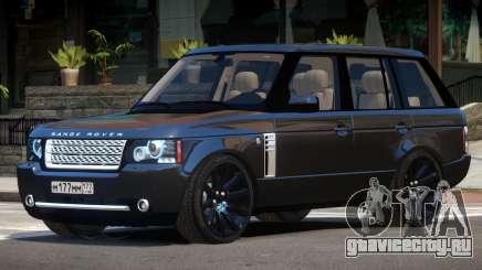 Range Rover Supercharged ST V1.0 для GTA 4