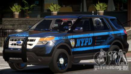 Ford Explorer Police V1.1 для GTA 4