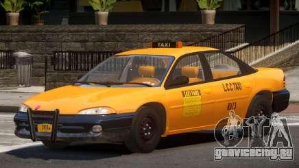 Dodge Intrepid Taxi V1.0 для GTA 4