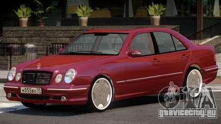 Mercedes-Benz E-class W210 V1.0 для GTA 4