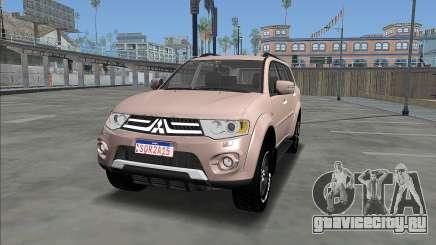 Мицубиси Паджеро Дакар ВПО 2015 для GTA San Andreas