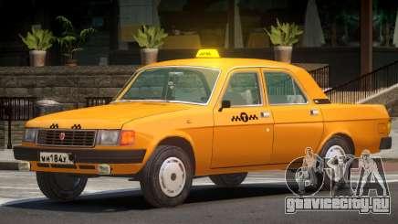 Volga 31029 Taxi V1.0 для GTA 4