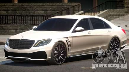 Mercedes S63 W222 V1.0 для GTA 4