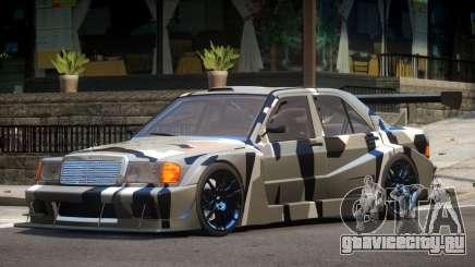 Mercedes 190E Sport PJ4 для GTA 4