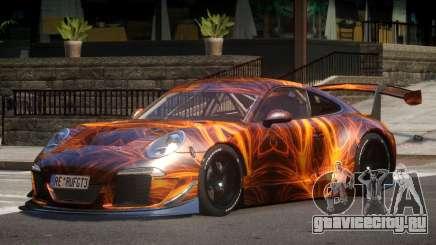 Porsche 911 GT-3 V1.0 PJ1 для GTA 4
