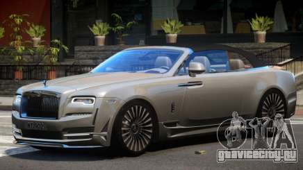 Rolls-Royce Dawn V1.1 для GTA 4