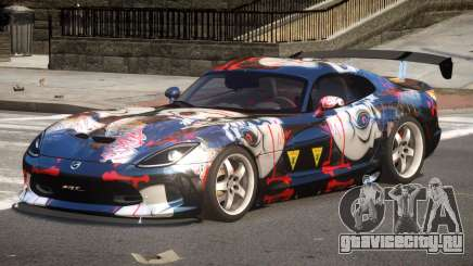 Dodge Viper GTS V1.1 P3 для GTA 4
