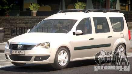 Dacia Logan V1.2 для GTA 4