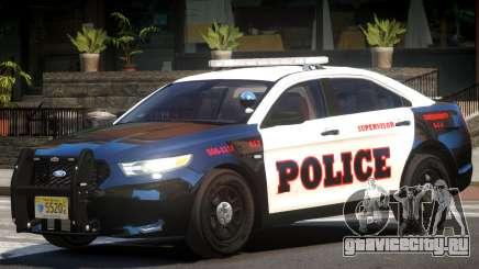 Ford Taurus Police V1.0 для GTA 4
