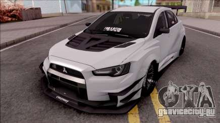 Mitsubishi Lancer Evolution X 2015 Varis Kit для GTA San Andreas