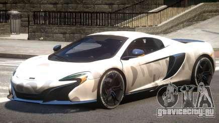 McLaren 650S GT PJ1 для GTA 4