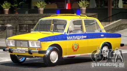 VAZ 2106 Police для GTA 4