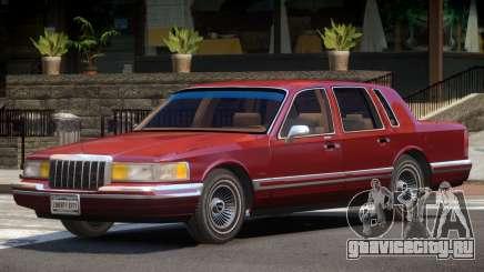 Lincoln Town Car V1.0 для GTA 4