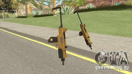 Micro SMG (Luxury Finish) GTA V Base V3 для GTA San Andreas
