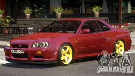 Nissan Skyline GT-Sport для GTA 4