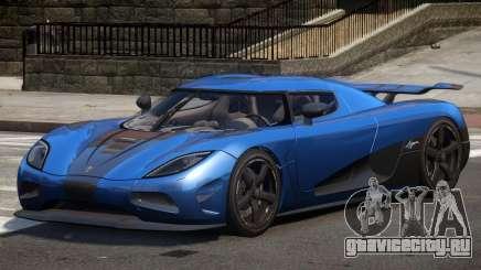 Koenigsegg Agera R Sport для GTA 4