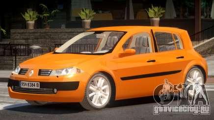 Renault Megane II V1.0 для GTA 4