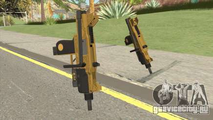 Micro SMG (Luxury Finish) GTA V Flashlight V1 для GTA San Andreas