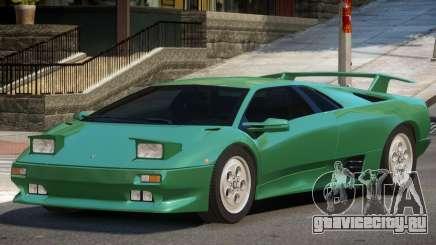 1990 Lamborghini Diablo V1.3 для GTA 4