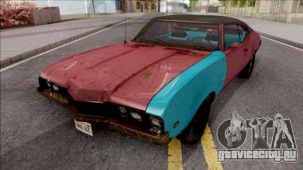 Oldsmobile Cutlass 1968 v2 для GTA San Andreas