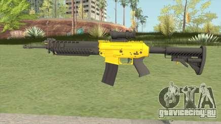 SG-553 Yellow (CS:GO) для GTA San Andreas