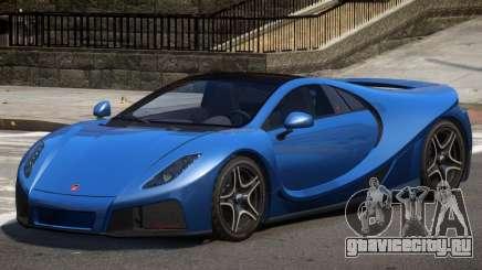 GTA Spano V10 для GTA 4