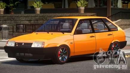 VAZ 2109 Pro Street для GTA 4
