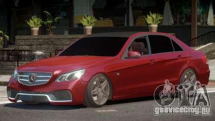 Mercedes Benz E63 W212 Tuned для GTA 4