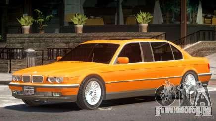 BMW 750IL E38 Tuned для GTA 4