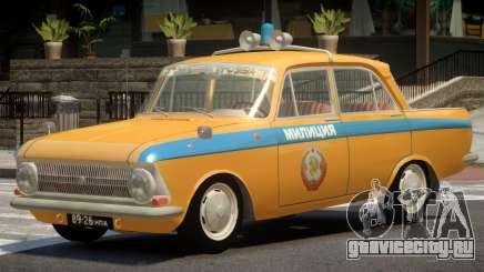 Izh 412 Police для GTA 4