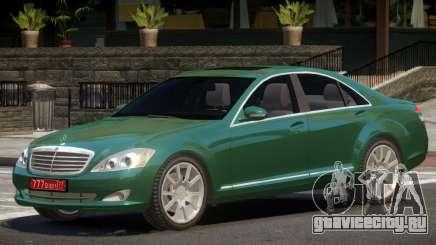Mercedes S600 V1.0 для GTA 4