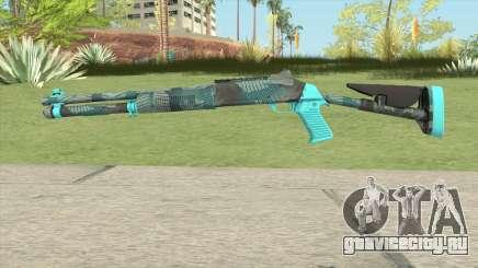 XM1014 Fractal Blue (CS:GO) для GTA San Andreas