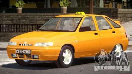 VAZ 2112 Taxi V1.0 для GTA 4