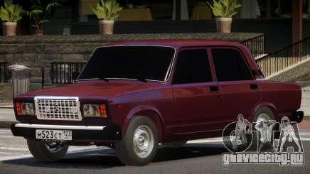 VAZ 2107 V1.1 для GTA 4