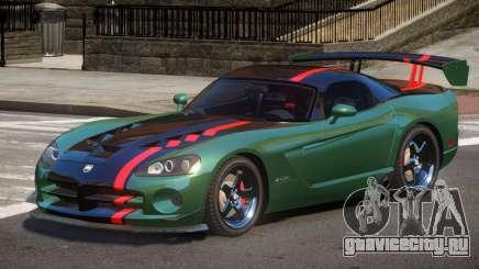 Dodge Viper SRT Spec V1.3 для GTA 4