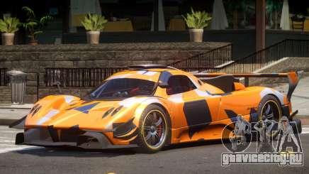 Pagani Zonda GT-R PJ2 для GTA 4