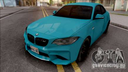BMW M2 Competition 2018 SA Style для GTA San Andreas