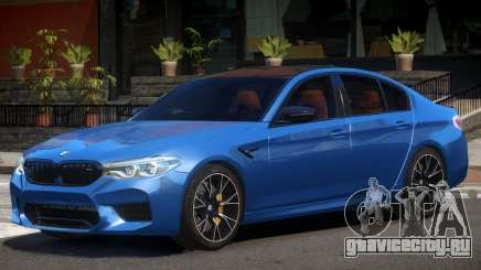 2018 BMW M5 Competition V1.0 для GTA 4