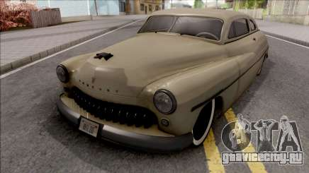 Mercury Coupe Custom 1949 v2 для GTA San Andreas