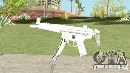 MP5 (White) для GTA San Andreas