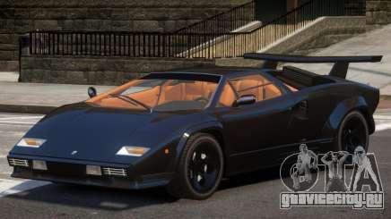 Lambo Countach V1.1 для GTA 4