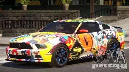 Ford Mustang RS V1.0 PJ4 для GTA 4