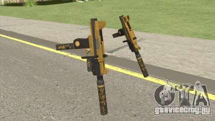 Micro SMG (Luxury Finish) GTA V Two Upgrades V6 для GTA San Andreas