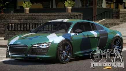 Audi R8 V10 GT PJ2 для GTA 4