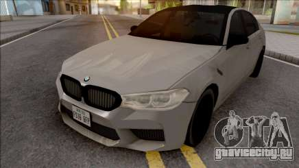 BMW M5 Competition 2019 для GTA San Andreas